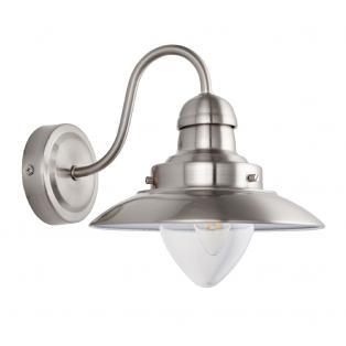 Luca Retro Wall Lamp in Chrome