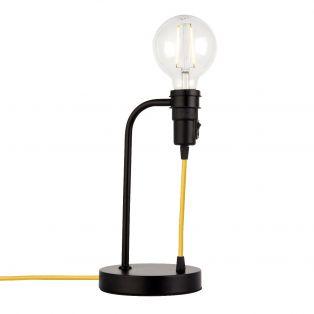Deo Table Lamp in Matte Black