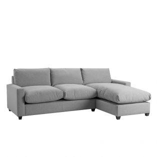 Mimi Right Hand Chaise Ottoman Sofa Bed