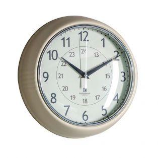 Tate Wall Clock in Barley