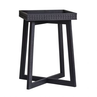 Sadie Side Table in Charcoal