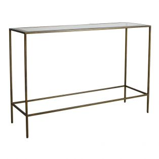 Marshall Console Table in Bronze