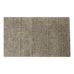 Olive Hand Woven Rug in Grey & Ochre