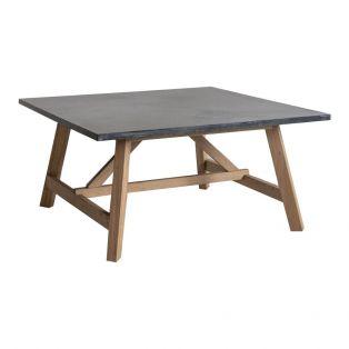 Alec Oak Grey Top Coffee Table