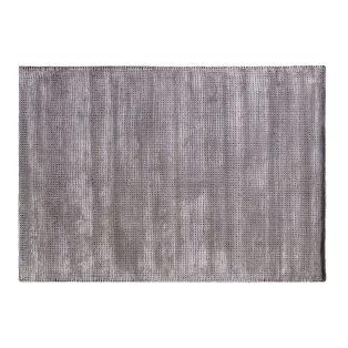 Tula Wool Mix Rug in Silver