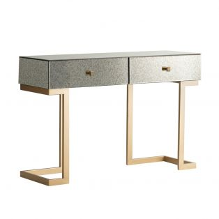 Ginger Mirrored Console Table