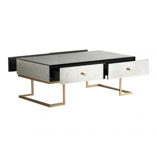 Ginger Mirrored Coffee Table