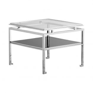 Boaz Side Table in Silver, Large
