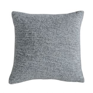 Quincy Hand-Woven Cushion in Grey