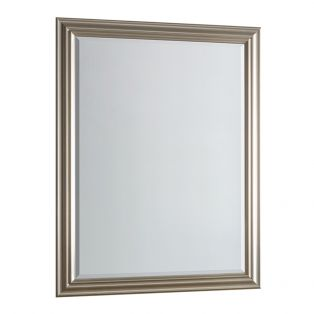 Ryan Overmantel Mirror in Champagne