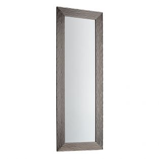 Brian Standing Mirror in Silver