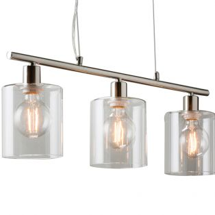 Bonnie 3 Pendant Light in Brushed Nickel