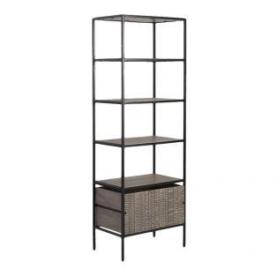 Ollin Acacia Bookcase