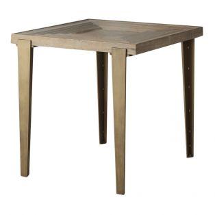 Valdez Elm Side Table