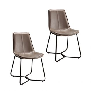 Weyburn Pebble Dining Chair, Set of Two
