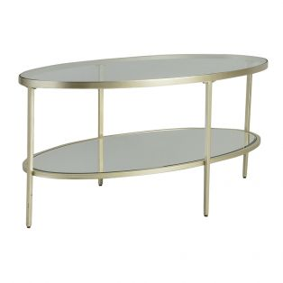 Aberdeen Champagne Coffee Table