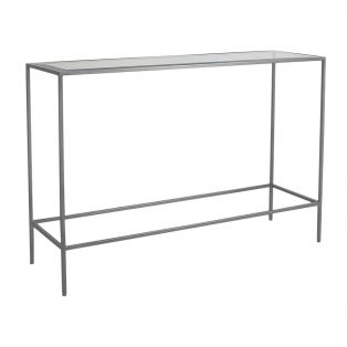 Marshall Console Table in Silver