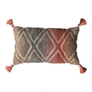 Milda Multi Coloured Knit Cushion