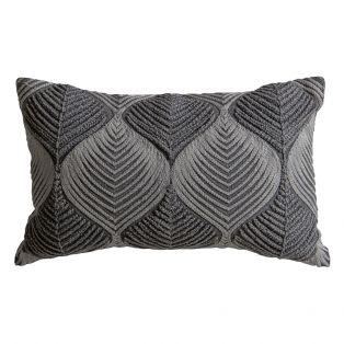 Tanya Two Toned Wave Cushion