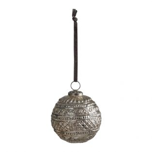Baxter Large Silver Baubles, Set of Two