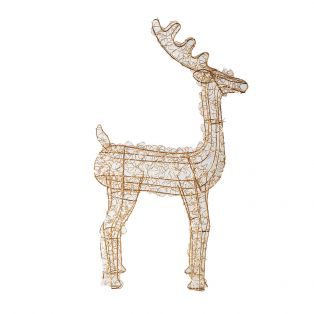 Decarie 50 LED Golden Deer, Small