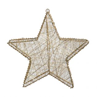 Decarie 30 LED Golden Star, Small