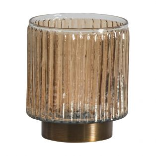 Newell Bronze Candle Holder, Small